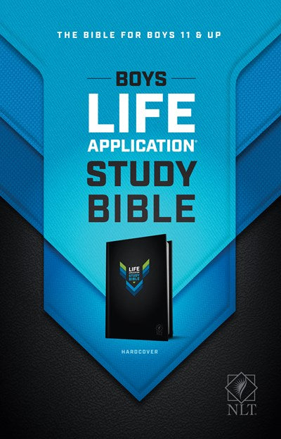 NLT Boys Life Application Study Bible (Hardcover)