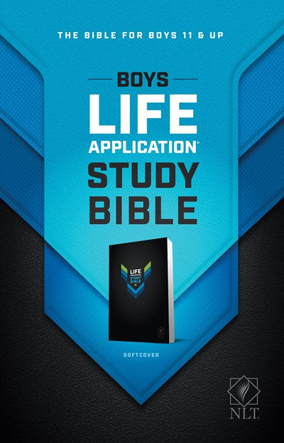 NLT Boys Life Application Study Bible (Softcover)