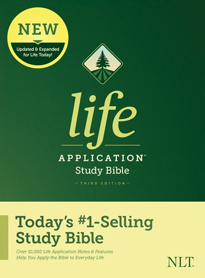 NLT Life Application Study Bible, Third Edition (Hardcover)
