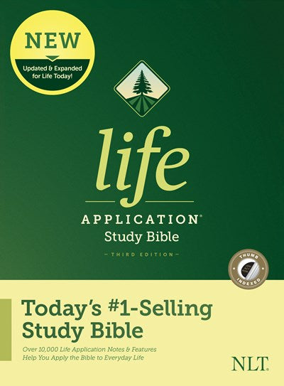 NLT Life Application Study Bible, Third Edition (Hardcover, Indexed)