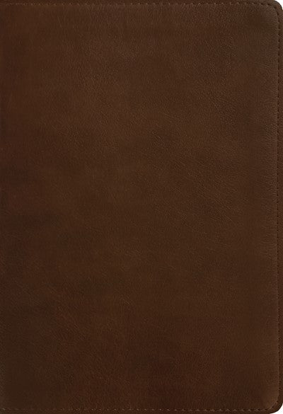 NLT Large Print Thinline Reference Bible, Filament Enabled Edition (Red Letter, LeatherLike, Rustic Brown, Indexed)