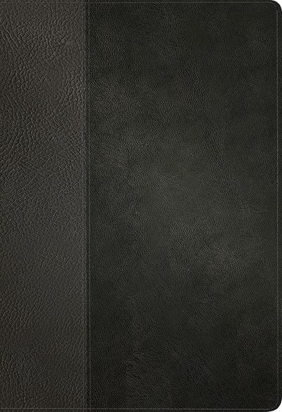 KJV Large Print Thinline Reference Bible, Filament Enabled Edition (Red Letter, LeatherLike, Black/Onyx)