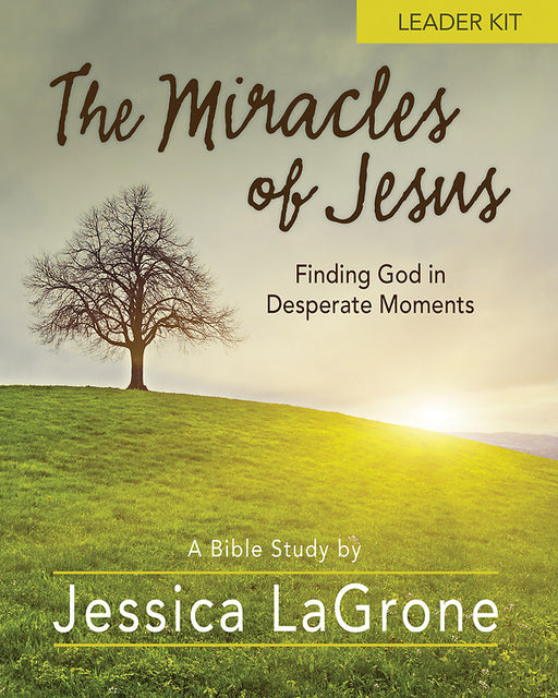 The Miracles of Jesus - Women's Bible Study Leader Kit