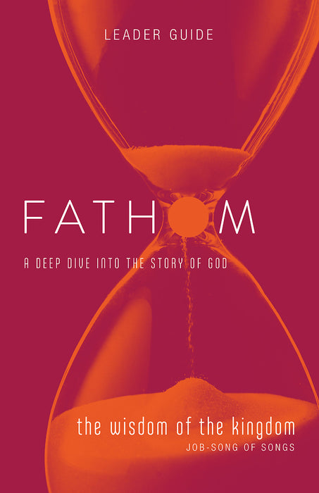 Fathom Bible Studies: The Wisdom of the Kingdom Leader Guide