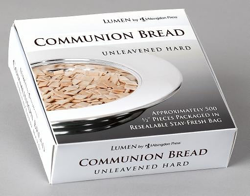 Unleavened Hard Communion Bread (Box of 500)