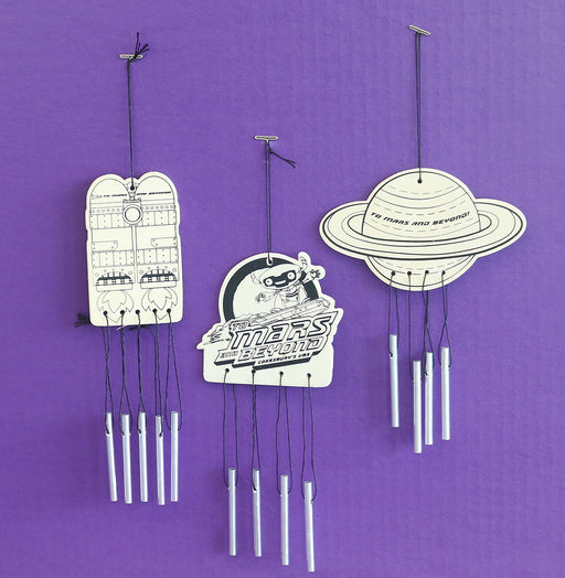 Vacation Bible School (VBS) To Mars and Beyond Wind Chimes Craft (Pkg of 12)