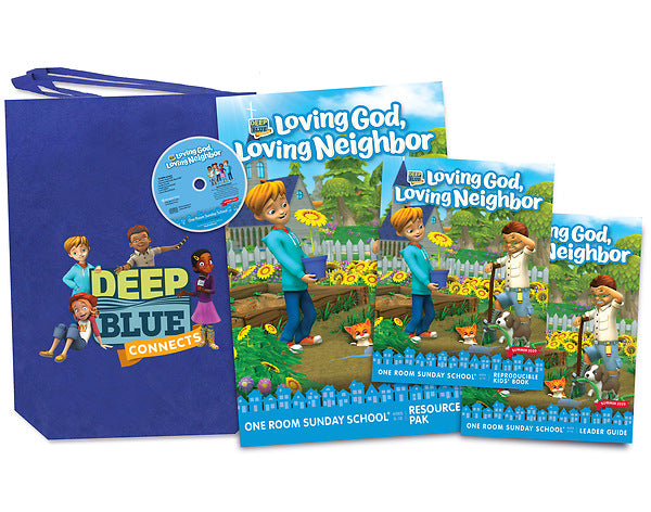 Deep Blue Connects One Room Sunday School Summer 2020 Kit