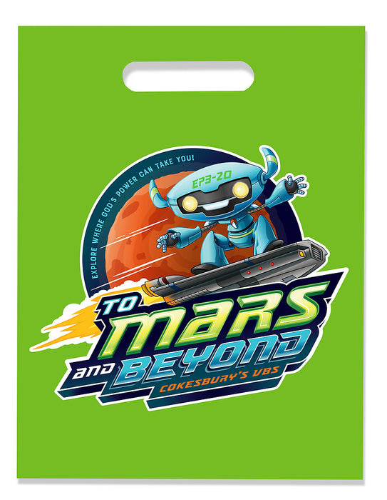 Vacation Bible School (VBS) To Mars and Beyond VBS Logo Bags (Pkg of 24)