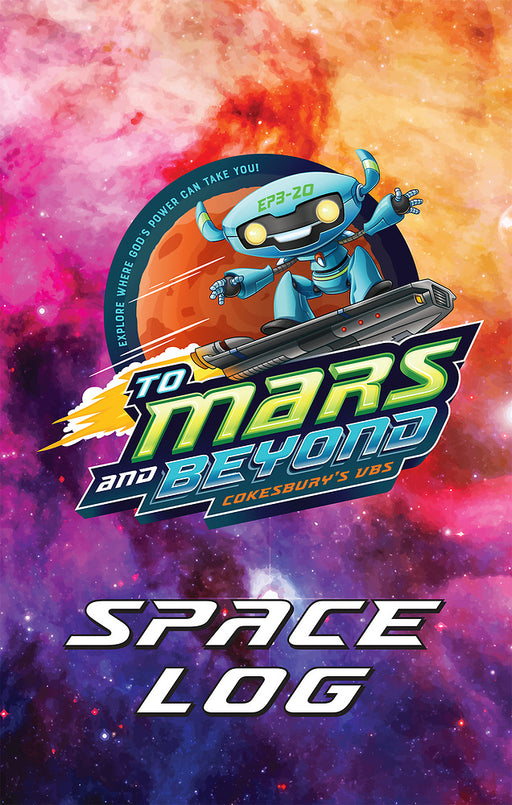 Vacation Bible School (VBS) To Mars and Beyond Space Log Activity Fun Book (Pkg of 24)