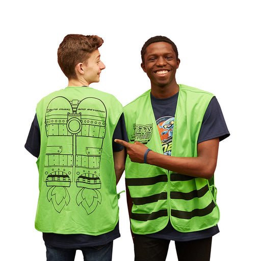 Vacation Bible School (VBS) To Mars and Beyond Leader Vest