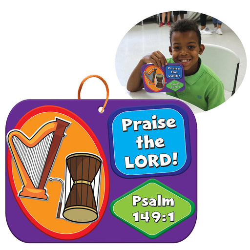 Vacation Bible School (VBS) 2019 WHOOOSH Praise the Lord Preschool Puzzle (Pkg of 12)