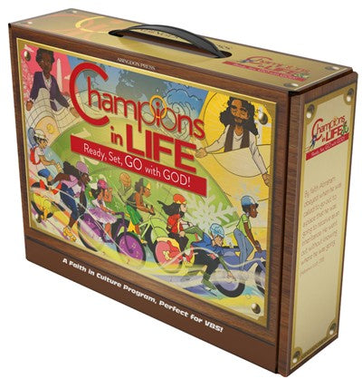 Vacation Bible School (VBS) 2020 Champions in Life Starter Kit