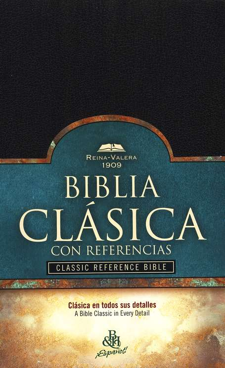 RV 1909 Classic Reference Bible ( Black Imitation Leather - Indexed )
