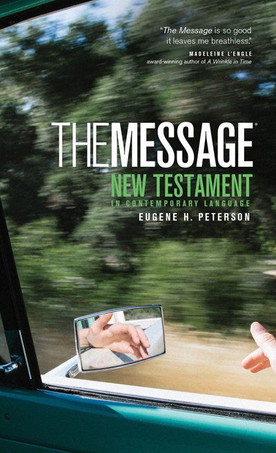 The Message New Testament (Mass Paper, Green)