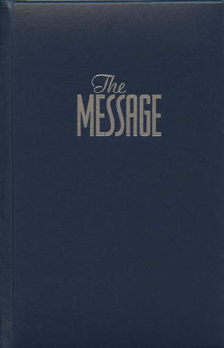 The Message Full Size (Hardcover, Navy)