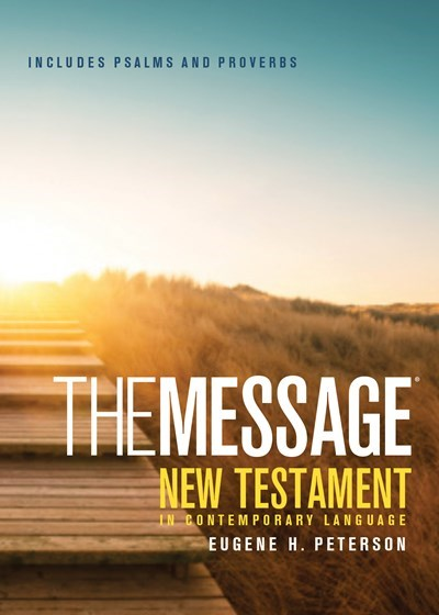 The Message New Testament with Psalms and Proverbs, Pocket (Softcover, Boardwalk Sunrise)