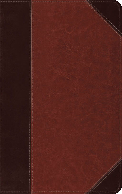 ESV Thinline Bible (TruTone, Brown/Cordovan, Portfolio Design)