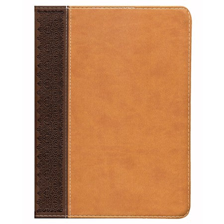 HCSB Study Bible, Brown/Tan LeatherTouch