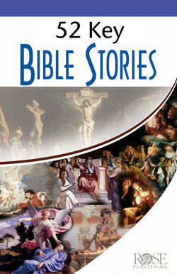 52 Key Bible Stories - Laminated Pamphlet