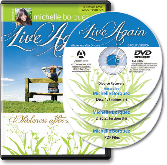 LIVE AGAIN: WHOLENESS AFTER DIVORCEDVD LEADER PACK