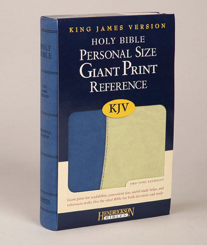 KJV Personal Size Giant Print Referreference Bible