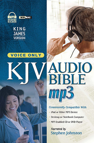 KJV AUDIO BIBLE, MP3. VOICE ONLY