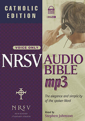 NRSV Audio Bible with the Apocrypha, Catholic Edition on MP3