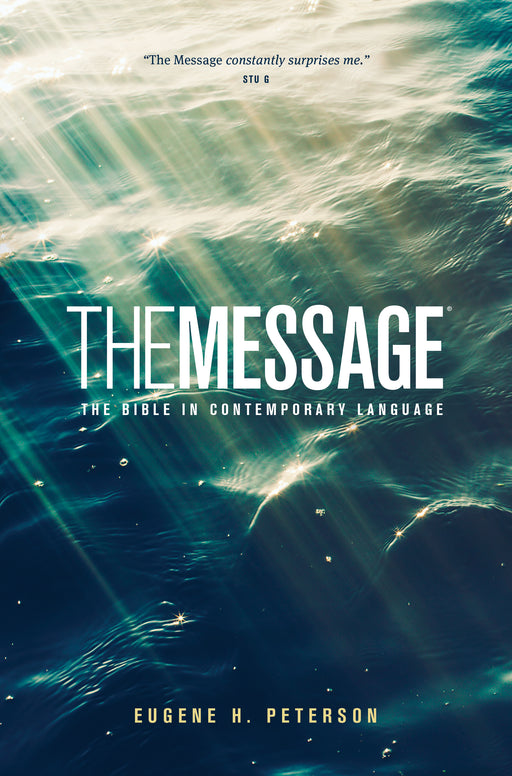 The Message Ministry Edition (Softcover, Green)