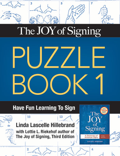 Joy of Signing, The Puzzle Book 1