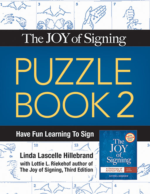 Joy of Signing, The Puzzle Book 2