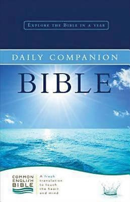 CEB Common English Daily Companion Bible Hardcover
