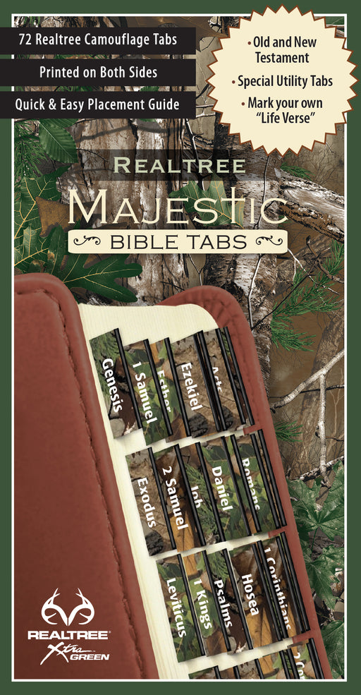 REALTREE™ Majestic Bible Tabs - Camo Version