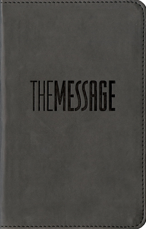 The Message Compact (Leather-Look, Graphite)