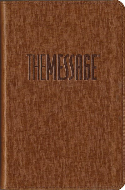 The Message Compact (Leather-Look, Tan)