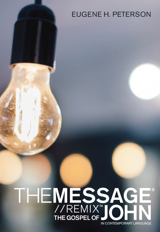 The Message Gospel of John in Contemporary Language (Softcover)