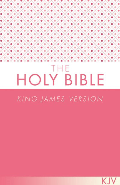 The Holy Bible KJV [Pink]