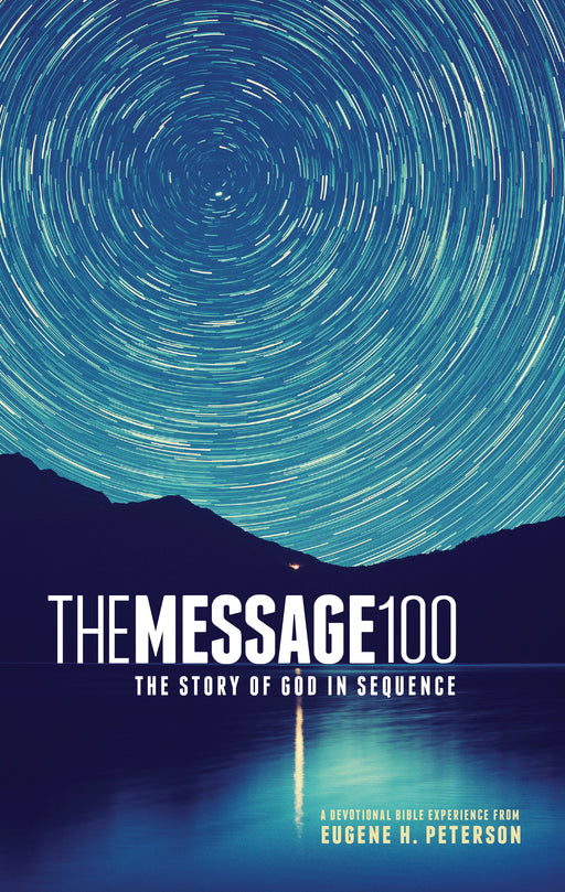 The Message 100 Devotional Bible (Softcover)