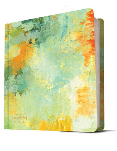 The Message Canvas Bible (Hardcover, Spring Palette)