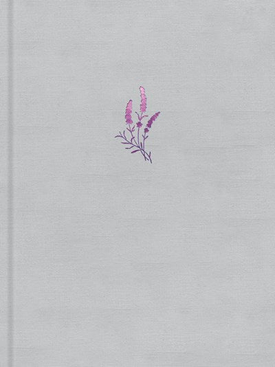 The Message Large Print (Hardcover Deluxe, Lavender on Linen)