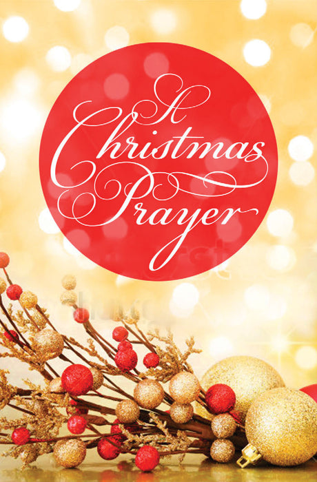 A Christmas Prayer (Pack of 25)