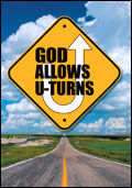 God Allows U-Turns (Pack of 25)
