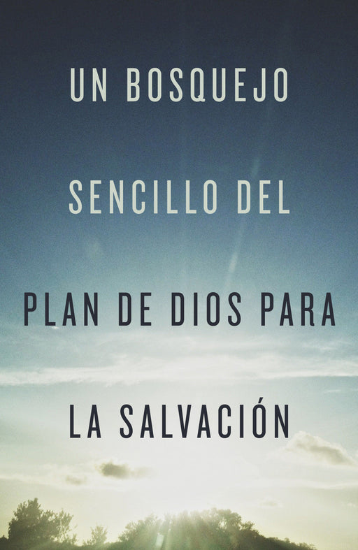 A Simple Outline of God's Way of Salvation (Spanish, Pack of 25)