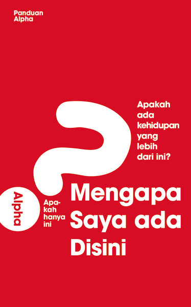 Alpha Course Guest Manual, Indonesian Edition
