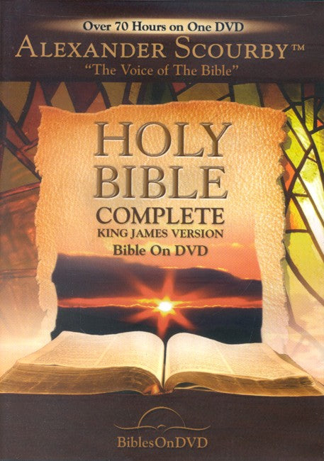KJV Complete Bible On DVD - 1 DVD