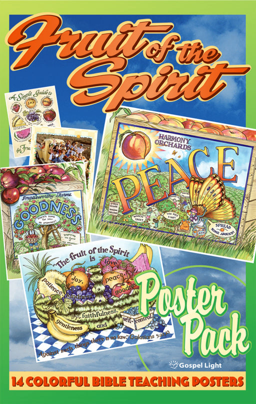 Gospel Light KidsTime: Grow Kids Grow Fruit Of The Spirit Poster Pack-Full Year