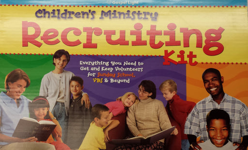 Children's Ministry Recruiting Kit