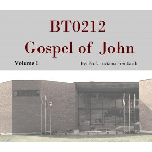 Gospel of John Audio Lectures (3 Volume set)