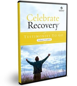 Celebrate Recovery Testimonies to Go (Volume 11 & 12)