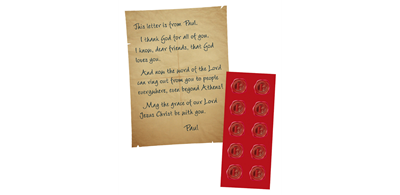 Athens VBS 2019 - Letters From Paul with Stickers