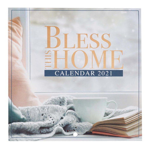 Bless This Home 2021 Small Wall Calendar